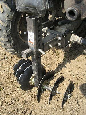 atv garden plow. 1 Of 4FREE Shipping GroundHog Max Without Kit, Disk Plow Works W/most Any UTV ATV Garden Weeds Atv