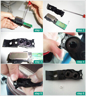 10Pcs DX4 Solvent Printhead Manifold /Adapter for Roland Mimaki jv4/jv22/TX2/JV3 5