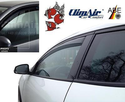 ClimAir Windabweiser MASTER Türen hinten KIA Sportage Typ SLS 2010-16 rauchgrau