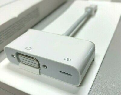 Original Apple MD825AM//A Lightning to VGA Adapter for iPhones iPads A1439