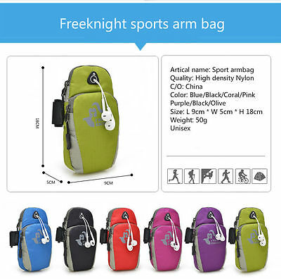 Freeknight Unisex Sports Armbag Armband for iPhone 6,6s,6 plus, 6s plus