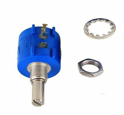 3590S Rotary Wirewound Precision Potentiometer Ohm Variable Resistor 10 Turn BSG 4