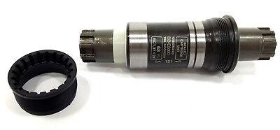 Shimano ES300 68x113 /& 121mm Octalink V2  MTB Bottom Bracket New
