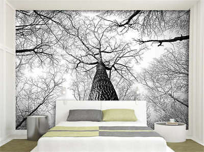 Concise Thick Branch 3D Full Wall Mural Photo Wallpaper Printing Home Kids Decor