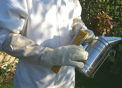 2 pairs of Bee keepers gloves - White XL 2