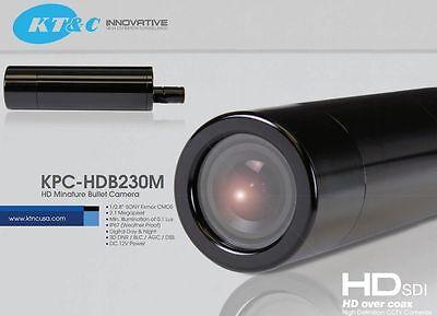 Kt&c Colore Hd-Sdi 23mm Mini Bullet Videocamera 1080p Sony Exmor CMOS 3.7mm 4