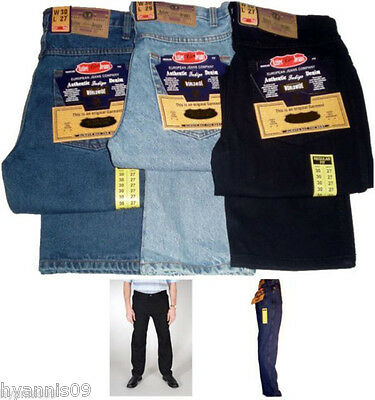 Mens Aztec jeans heavy duty work casual regular fit trousers 2
