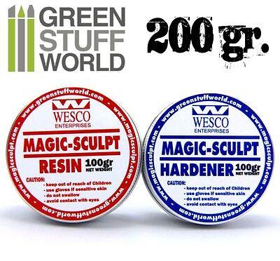 Magic Sculpt  200gr - Masilla Epoxy Bicomponente - Pasta Moldeable Profesional
