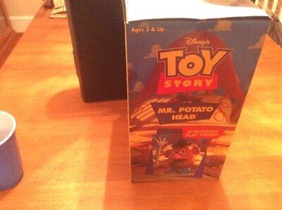 Disney Pixar Toy Story Mr Potato Head Plush Attachable Play Pieces MIB 3