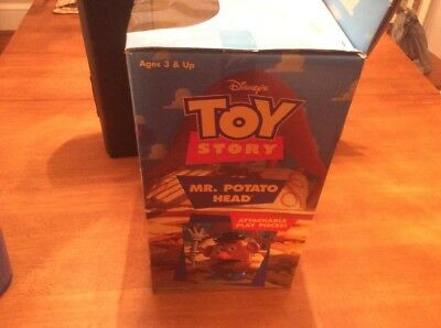 Disney Pixar Toy Story Mr Potato Head Plush Attachable Play Pieces MIB 5