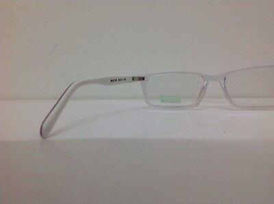 Occhiale vista Benetton Mod 201 largo 12,6 Cm Blu Bambino Trasparente Blu Bianco 7