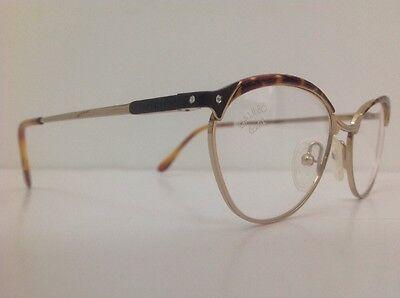 Galileo Occhiale Da Vista Junior Bambina Oro Strass Asta Flex Gatta12cm Frontale 8
