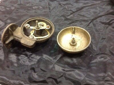 Very Rare Machanical Push Button Door Bell 2