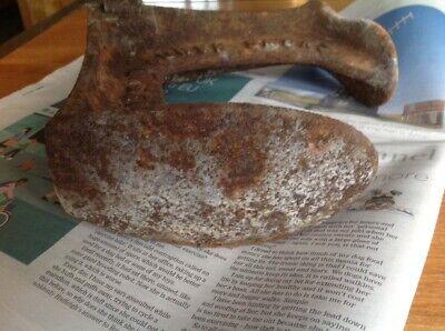 Vintage Triple Shoe Last Shoemakers Tool Heavy Door Stop Snows Cast Iron 7