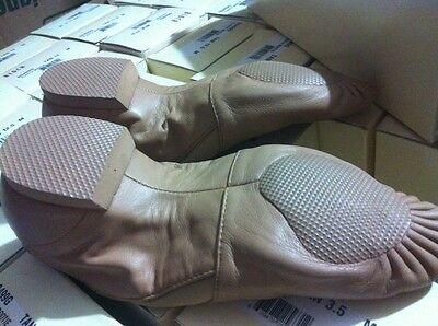 BLOCH ELASTA BOOTIE WOMAN SO499L TAUPE NEW WITH DEFECT MULTIPLE SIZES