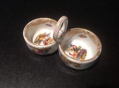 Gorgeous Miessen Porcelain Salt And Pepper