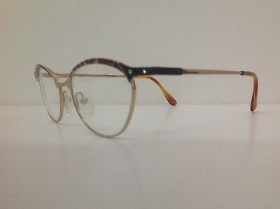 Galileo Occhiale Da Vista Junior Bambina Oro Strass Asta Flex Gatta12cm Frontale 4