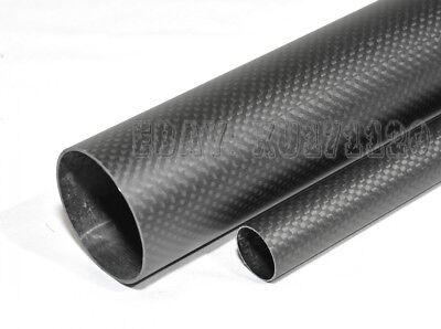 2pcs 3K Carbon Fiber Tube x 500mm 10mm 11 12mm 13 14mm 15mm 16mm 17 18mm 19 20mm