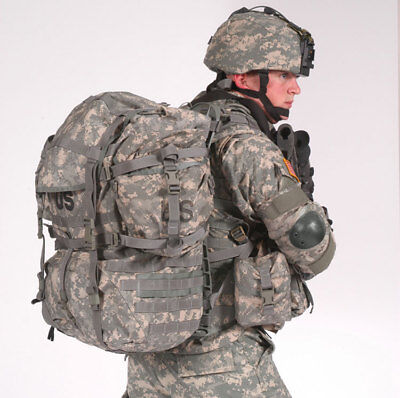 MOLLE II ACU Large Rucksack Field Pack Complete w/ Frame US Military Army VGC 6