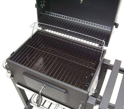 56511 Bbq Barbecue Grill Griglia Carbone Carbonella Ripiano Affumicatore 10