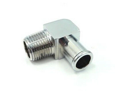 90 Degree Elbow Heater Water Pump Fitting 5//8 Hose 1//2 NPT 4530Z STEEL A141