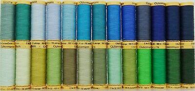 Gütermann Thread - 100m Reel 100% Cotton Machine + Hand Sewing Quilting 5