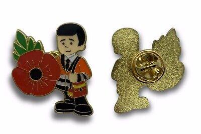 Royal Mail Post Man Poppy Pin Badge 2