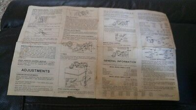 Vtg Briggs Stratton Engine Operating Maintenance Instructions 100200/299 Manual 4