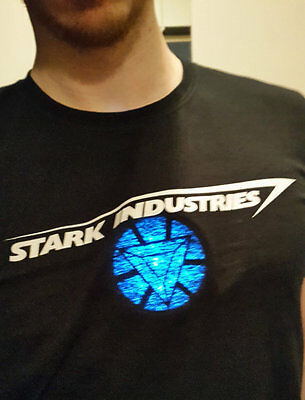 1 Of 6 Iron Man Arc Reactor For Cosplay And Fancy Dress Tony Stark Avengers  Triangular