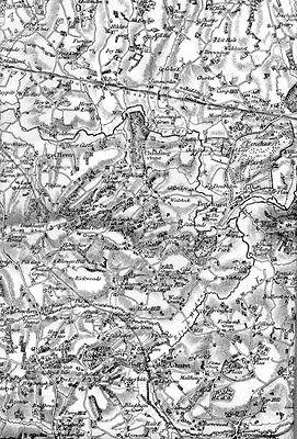 Ordnance Survey Map 75: Bridgwater Quantocks David & Charles Sheet map, folded 2