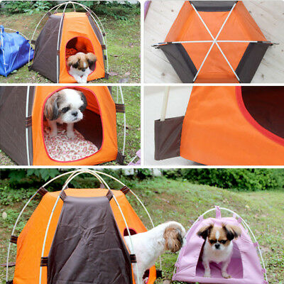 Portable Pet Tent Puppy Dog Pet Cat Outdoor Camping Sun Shelter Waterproof House 5