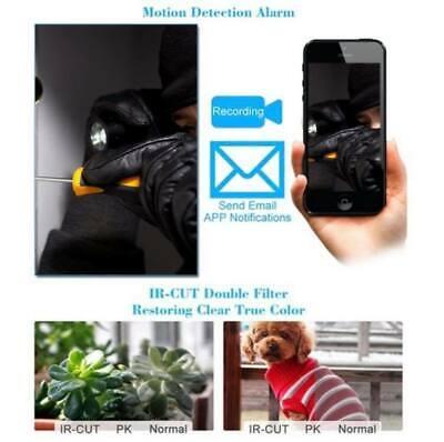 Telecamera Wi Fi Da Esterno Ip Camera P2P Wireless Ir Infrarossi Ipcam Micro Sd 8