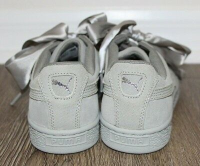 factory price ea3fc eee27 WOMEN'S SHOES SNEAKERS Puma Suede Heart Pebble [365210 02] ~ Sz 6.5