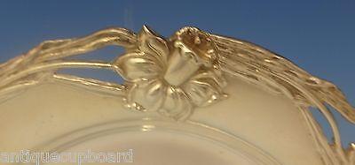 Alvin Sterling Silver Bread & Butter Plate Art Nouveau Daffodil (#0267) 2