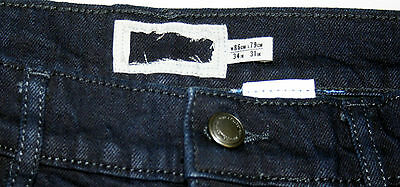 Ex M&S Mens Jeans Straight Leg Regular Fit Added Stretch With Stormwear RRp £35 7