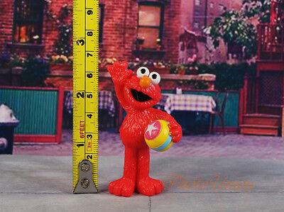 Sesame Street Muppets Cokkie Monster Elmo Cake Topper Figure