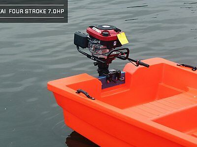 7 HP 4-Stroke Outboard Motor Transom Mount Boat Engine Air Cooling 196CC 10