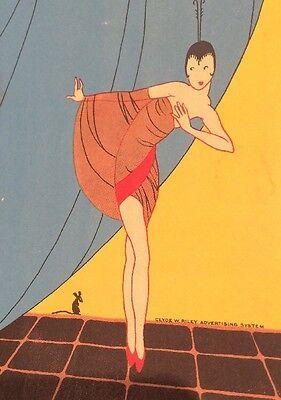 Art Deco Sam Harris Theatre Art Deco Play Bill Booklet 1927 Cradle Snatchers Pretty Lady