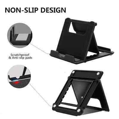 Universal Adjustable Mobile Phone Holder Stand Desk Tablet Foldable Portable 6