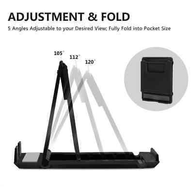 Universal Adjustable Mobile Phone Holder Stand Desk Tablet Foldable Portable 7