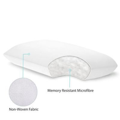Buy 1,2, 4 Aus Made Cushion Inserts Premium Polyester Fibre Filling Round Pillow 2