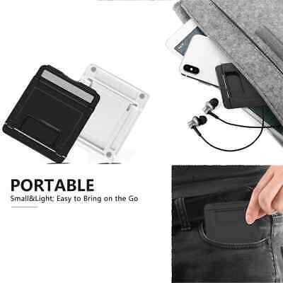 Universal Adjustable Mobile Phone Holder Stand Desk Tablet Foldable Portable 10