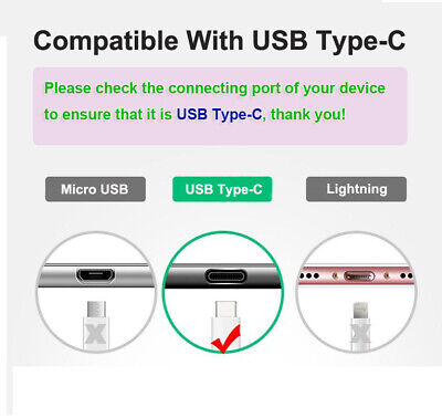Fast Charging USB Type-C Charger Adapter Cable Cord For OPPO R17 Pro Find X R17 4