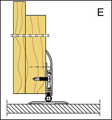 3 Von 8 Alu Türdichtung, Bodendichtung,Schallschutz,Kältestop, Zugluft, Innentüren,dicht