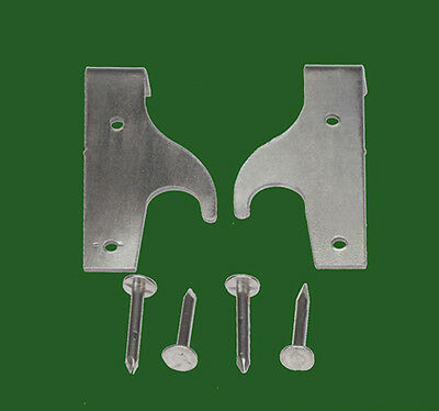 Rare Globe Wernicke Usa® Hook  Bookcase Door Hinge Assembly! Great For Any Door! 2 • £15.56