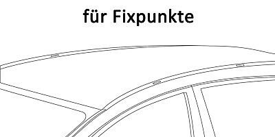 Dachträger AURILIS für VW Passat VI 4Türer 05-13 ALU