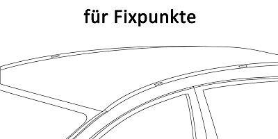Dachträger Aurilis Original für Mercedes CLA Coupé 4 Türer ab 2012