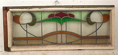 Vintage Stained Glass Window Panel (3222)NJ 3