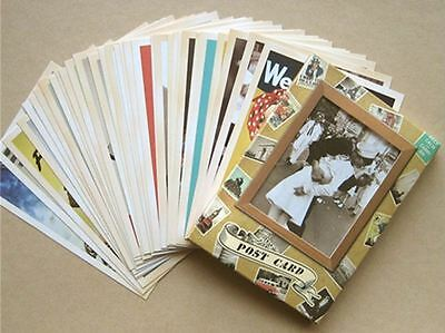 Lot of 32 Postcard Vintage World War II Photo Picture Poster Post Cards 7
