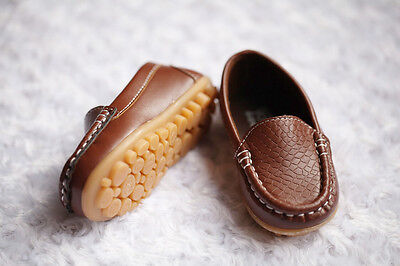 NEW Boys Formal Soft Rubber Sole Loafer Shoes, Brown Black, size 5,6, 7, 7.5,8 6